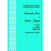 Aqua Damask Wedding Invitation